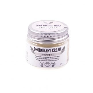Naturlig Deo- Unscented Organic deodorant cream 15ml