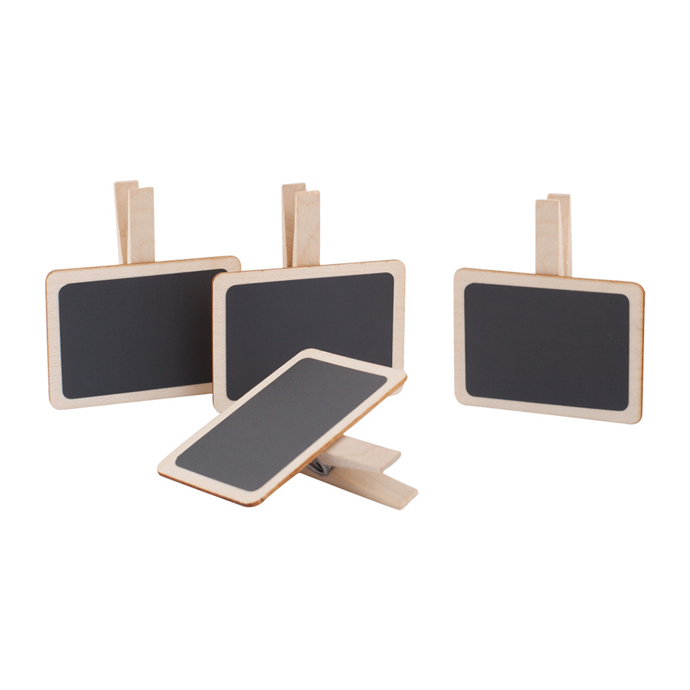 small wooden boards for table arrangement
